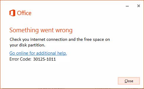 error code 301251011